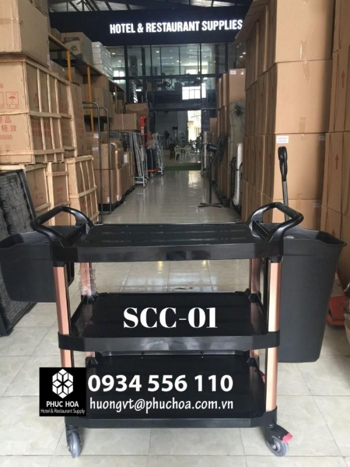 Xe chở đồ ăn nhà hàng khách sạn SCC-016