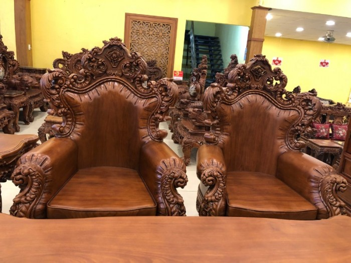 Bộ Sofa Cổ Điển Hoàng Gia Vip 10 Món8