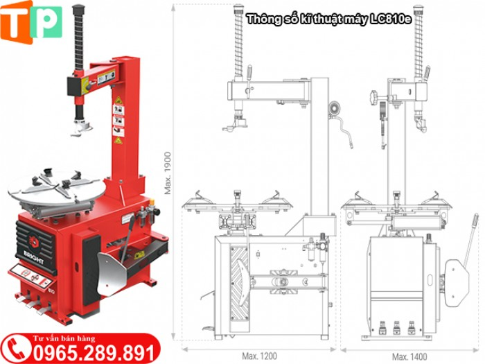 Thông số kĩ thuật máy Bright LC810e0