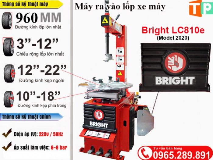 Máy tháo lốp xe máy Bright LC810e4