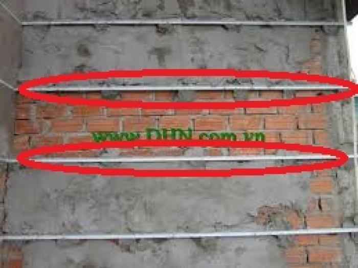 Nẹp tạo chỉ trang trí - Nẹp ngắt nước - Nẹp cắt chỉ âm dạng chữ U/V0