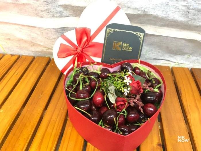 Hộp quà Cherry trái tim - FSNK1220