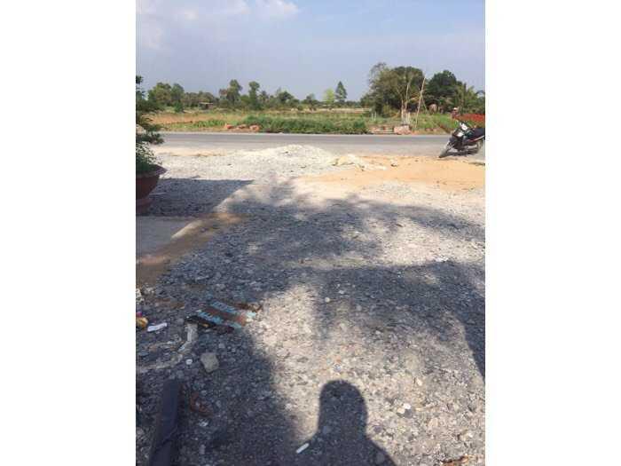 900m đất mặt tiền tỉnh lộ 878,Tam Hiệp,Châu Thành,Tiền Giang0
