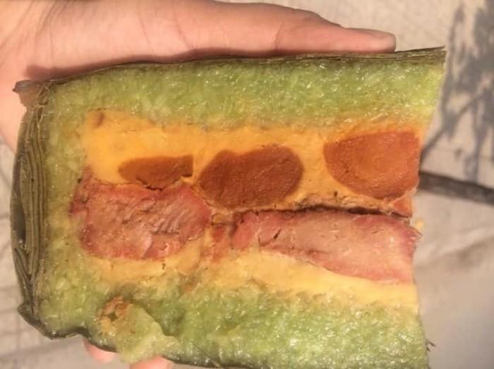 • Bánh tét Trà Cuôn Trà Vinh hút chân không 160.000đ/đòn1