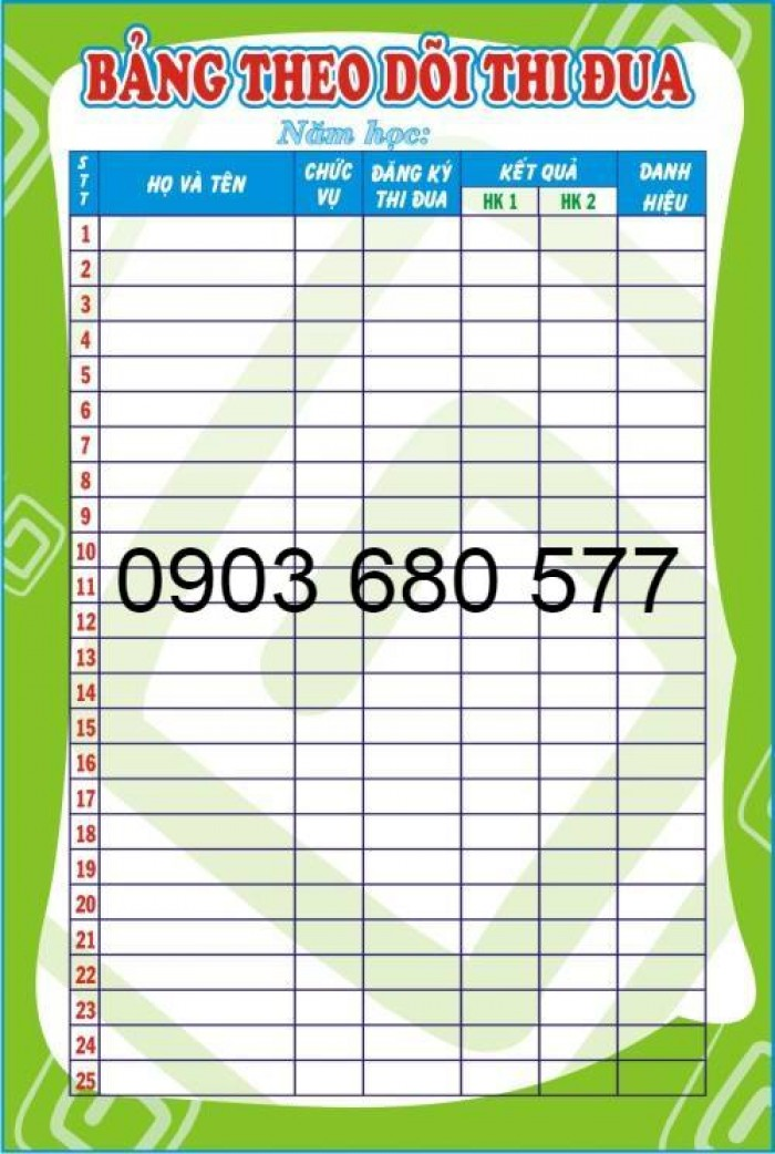 Chuyên cung cấp bảng tuyên truyền cho trường mầm non4
