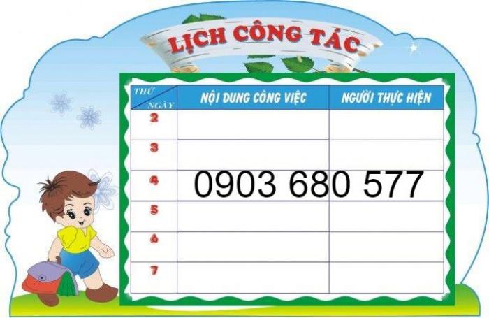 Chuyên cung cấp bảng tuyên truyền cho trường mầm non1