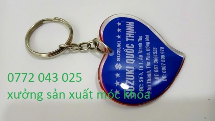 Công ty sản xuất móc khóa quảng cáo giá rẻ TP HCM9