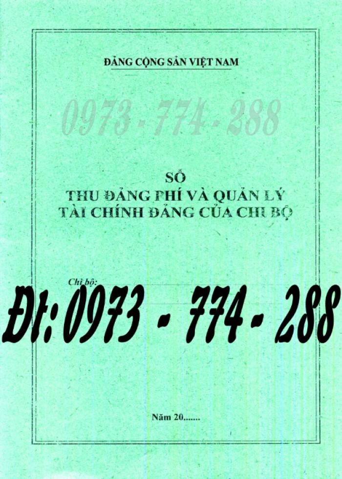 Đảng Cộng Sản Việt Nam - Sổ theo dõi chi tiết thu tiền Đảng phí các đơn vị cấp dưới mẫu số s03/đp5