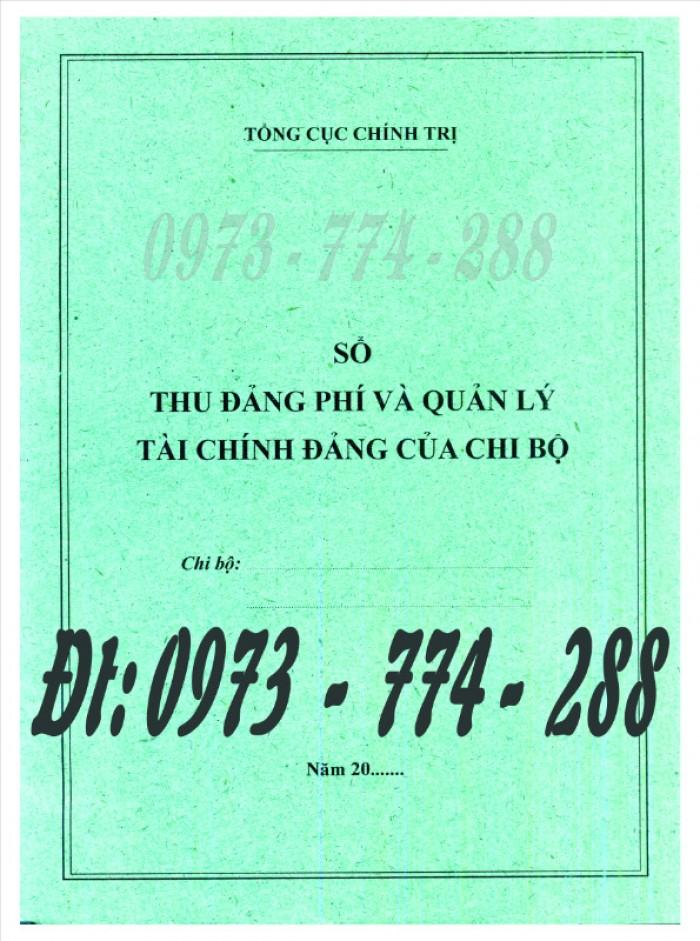 Đảng Cộng Sản Việt Nam - Sổ theo dõi chi tiết thu tiền Đảng phí các đơn vị cấp dưới mẫu số s03/đp6
