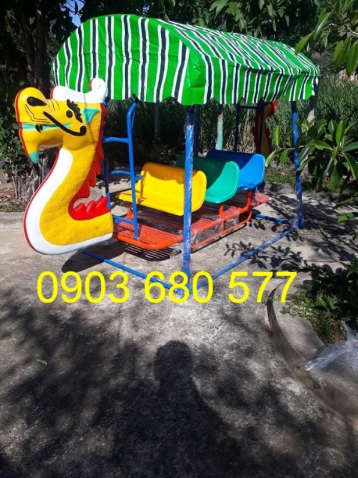 Cần bán xích đu thuyền rồng trẻ em cho trường mầm non, công viên, khu vui chơi2