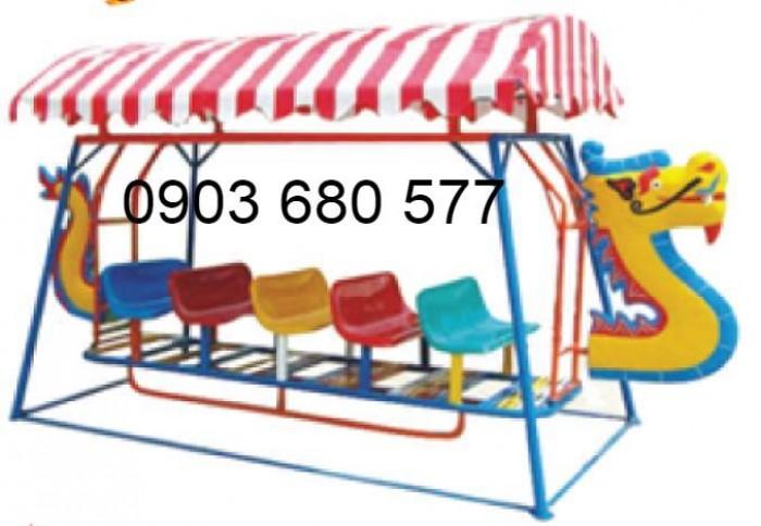 Cần bán xích đu thuyền rồng trẻ em cho trường mầm non, công viên, khu vui chơi5