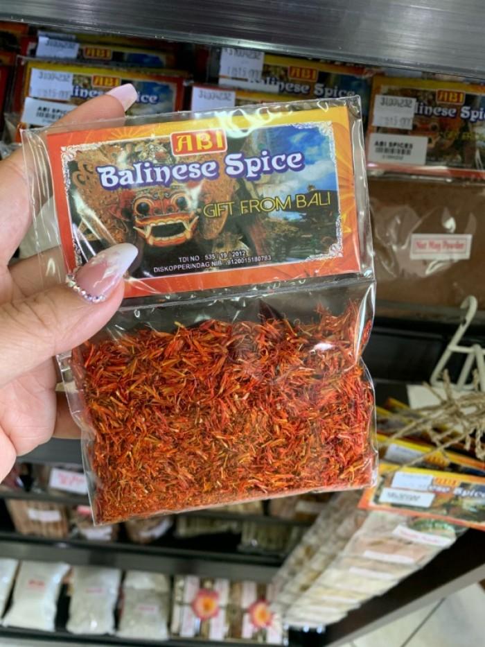 Saffron Flower Balinese Spice Hoa nghệ tây gia vị  đóng gói sẵn3