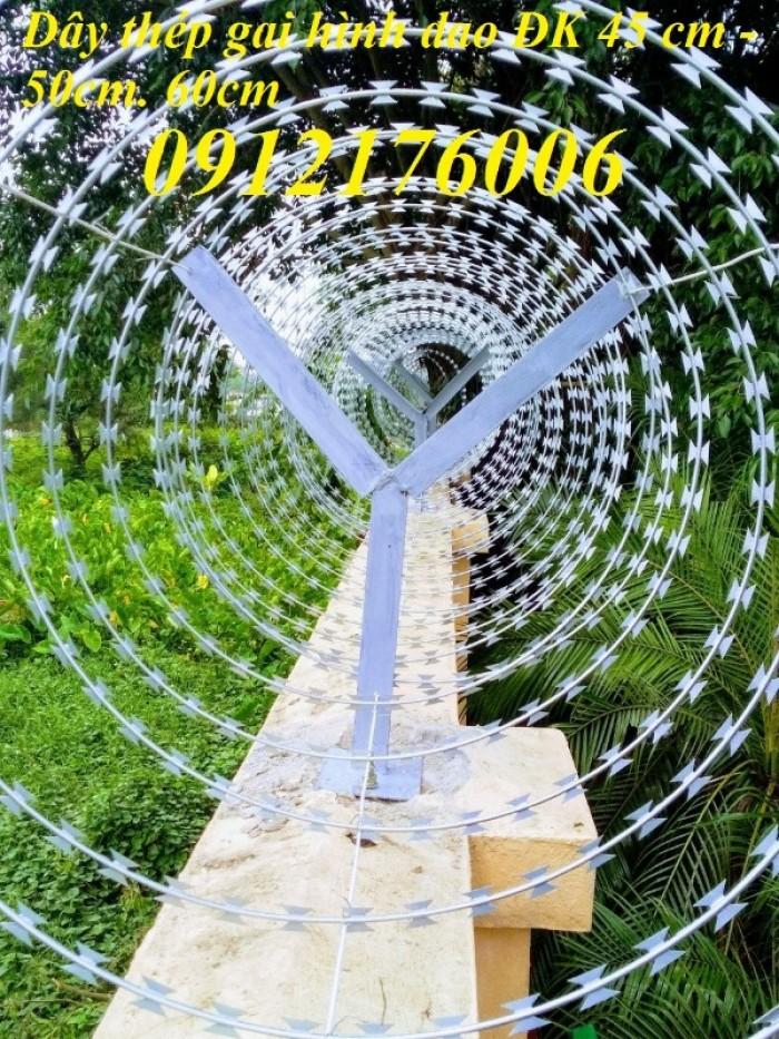Chuyên sản xuất dây thép gai hình dao giá tốt24