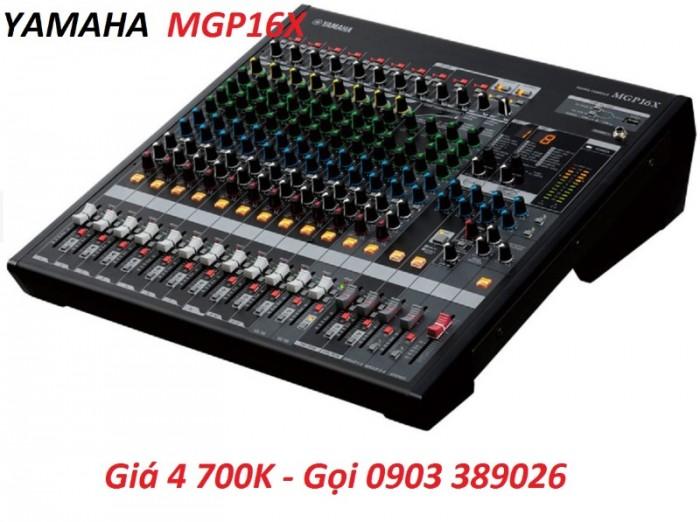 Mixer bàn Yamaha MGP16X 16 kênh có Khả năng kết nối kỹ thuật số với IPod/ IPhone trên phần mềm MGP Editor1
