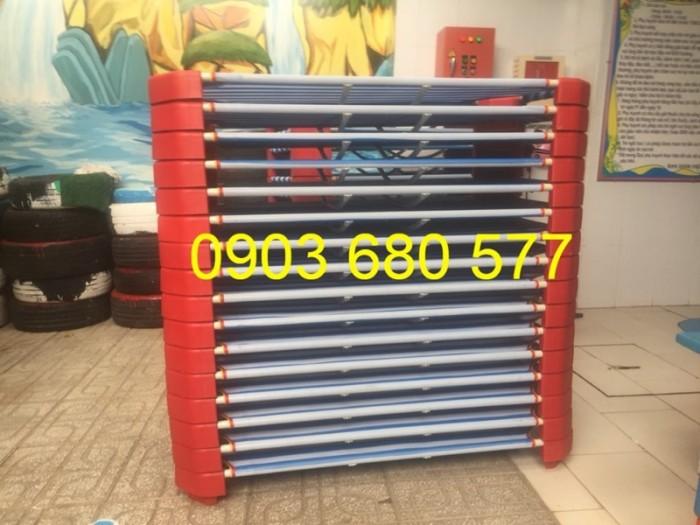 Chuyên cung cấp giường ngủ lưới mầm non cho bé giá rẻ, uy tín, chất lượng nhất11