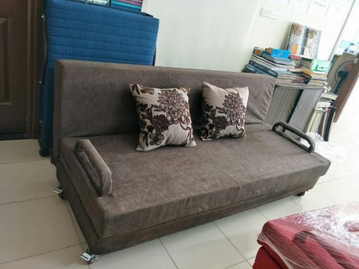 Sofa giường 2in1 di động rộng 1,5m thông minh1