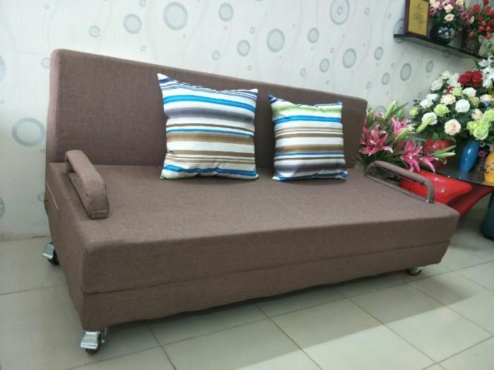 Sofa giường 2in1 di động rộng 1,5m thông minh2