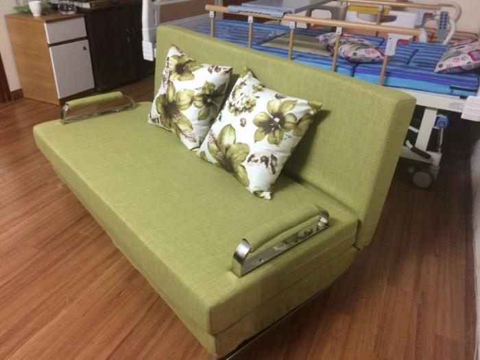 Sofa giường 2in1 di động rộng 1,5m thông minh3