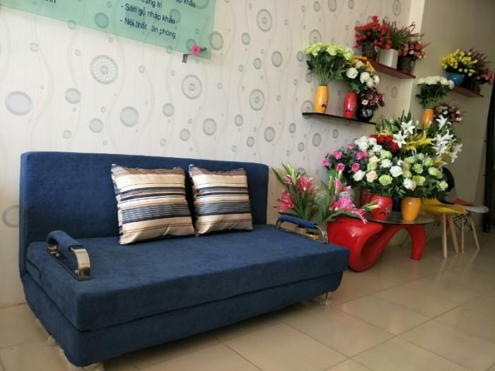 Sofa giường 2in1 di động rộng 1,5m thông minh5