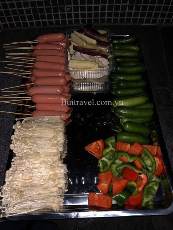 Bếp nướng không khói Hà Nội1