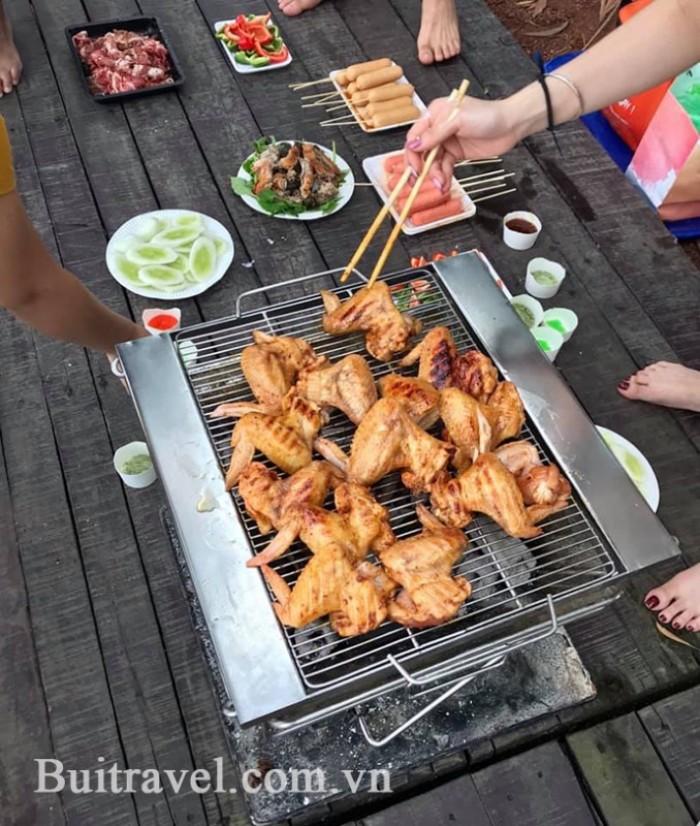 Bếp nướng không khói Hà Nội3