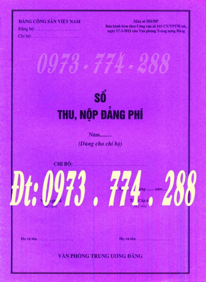 Bán cuốn sổ thu Đảng phí và quản lý tài chính Đảng của chi bộ mẫu mới nhất5