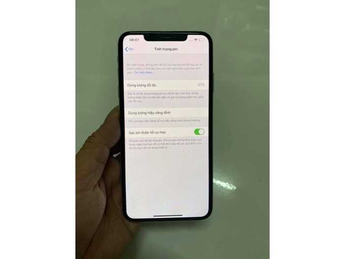 Iphone Xs Max 64gb Lock trắng đẹp còn bh lâu0