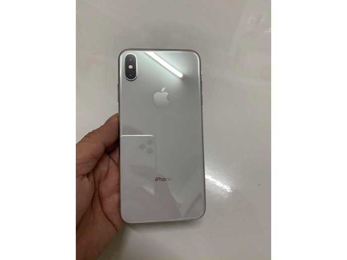 Iphone Xs Max 64gb Lock trắng đẹp còn bh lâu1
