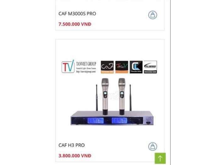 micro caf H3 pro chính hãng chất lượng cao0