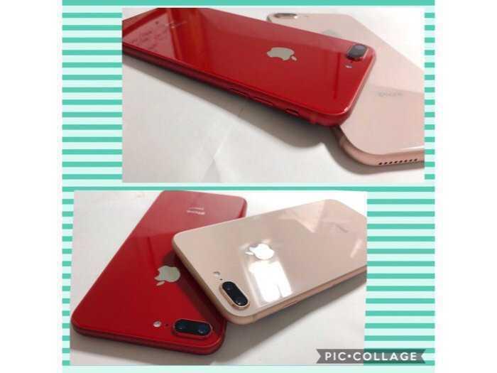 IPHONE 7PLUS-32G-QUỐC TẾ-LÊN VỎ IPHONE 8 PLUS-VÀNG HỒNG ROSE GOLD/ĐỎ PRODUCT RED.Như Mới99,9%.Chính hãng Apple1