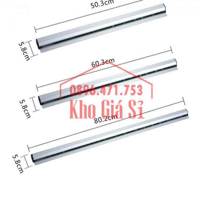 Thanh kẹp giấy in nhiệt gắn quầy bar 60cm - Cây gắn bill, menu, giấy order giá rẻ - Cần Thơ3