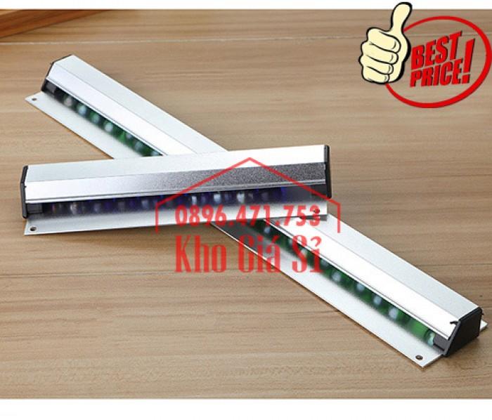 Thanh kẹp giấy in nhiệt gắn quầy bar 60cm - Cây gắn bill, menu, giấy order giá rẻ - Cần Thơ6