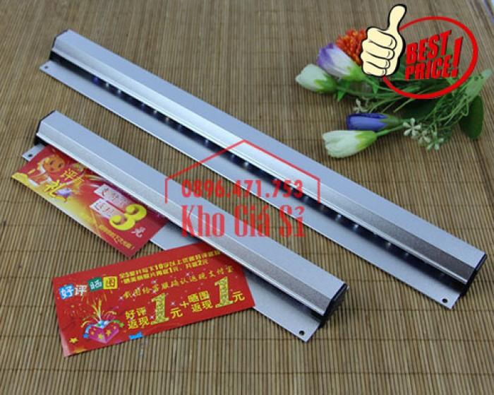 Thanh kẹp giấy in nhiệt gắn quầy bar 60cm - Cây gắn bill, menu, giấy order giá rẻ - Cần Thơ5