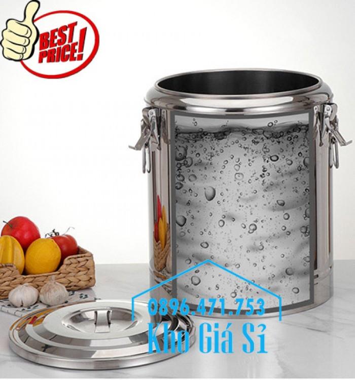 Nồi inox giữ nhiệt, cách nhiệt đựng thực phẩm, thức ăn, nước lèo, nước phở6