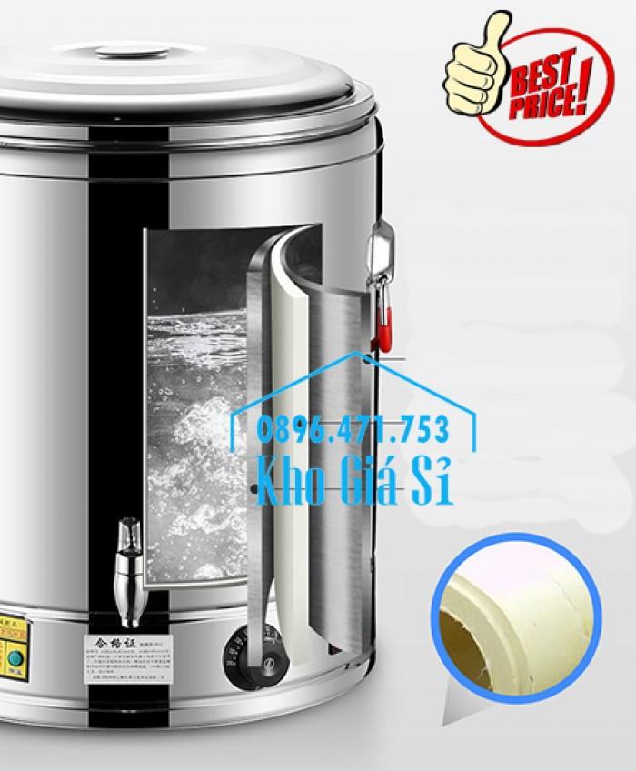 Thùng/ Nồi inox vận chuyển đồ ăn, thùng cách nhiệt, giữ nhiệt vận chuyển nước lèo, nước phở tại Nha Trang5