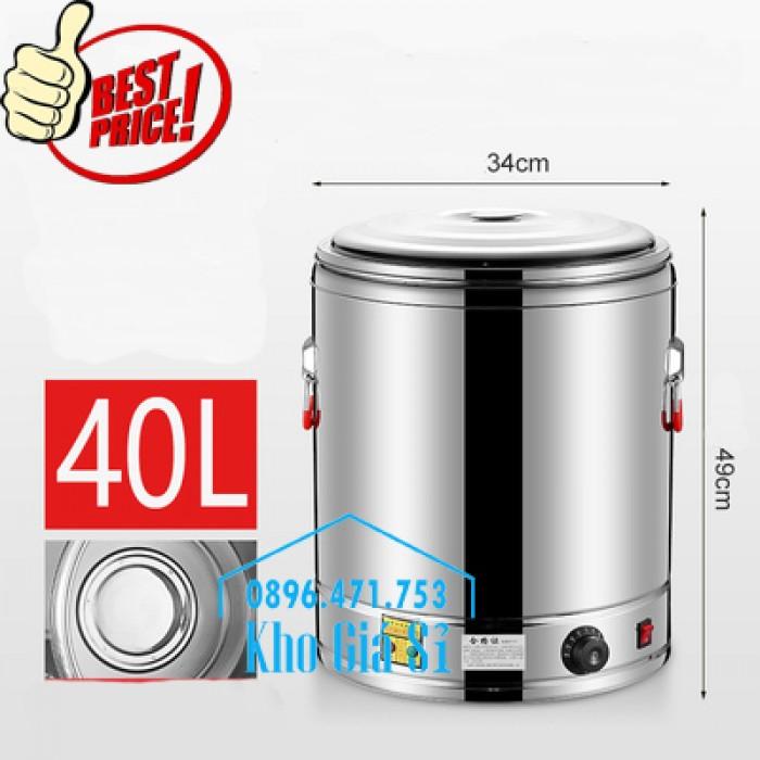 Thùng/ Nồi inox vận chuyển đồ ăn, thùng cách nhiệt, giữ nhiệt vận chuyển nước lèo, nước phở tại Nha Trang3