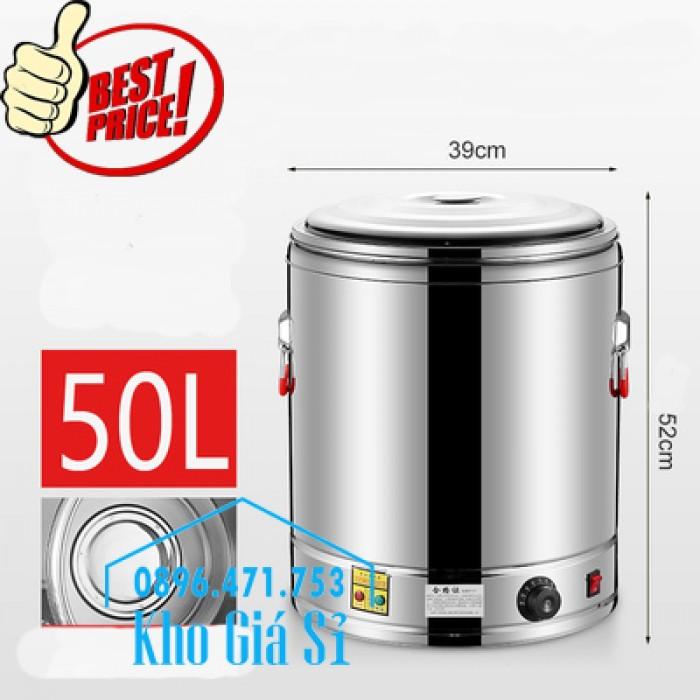 Thùng/ Nồi inox vận chuyển đồ ăn, thùng cách nhiệt, giữ nhiệt vận chuyển nước lèo, nước phở tại Nha Trang1