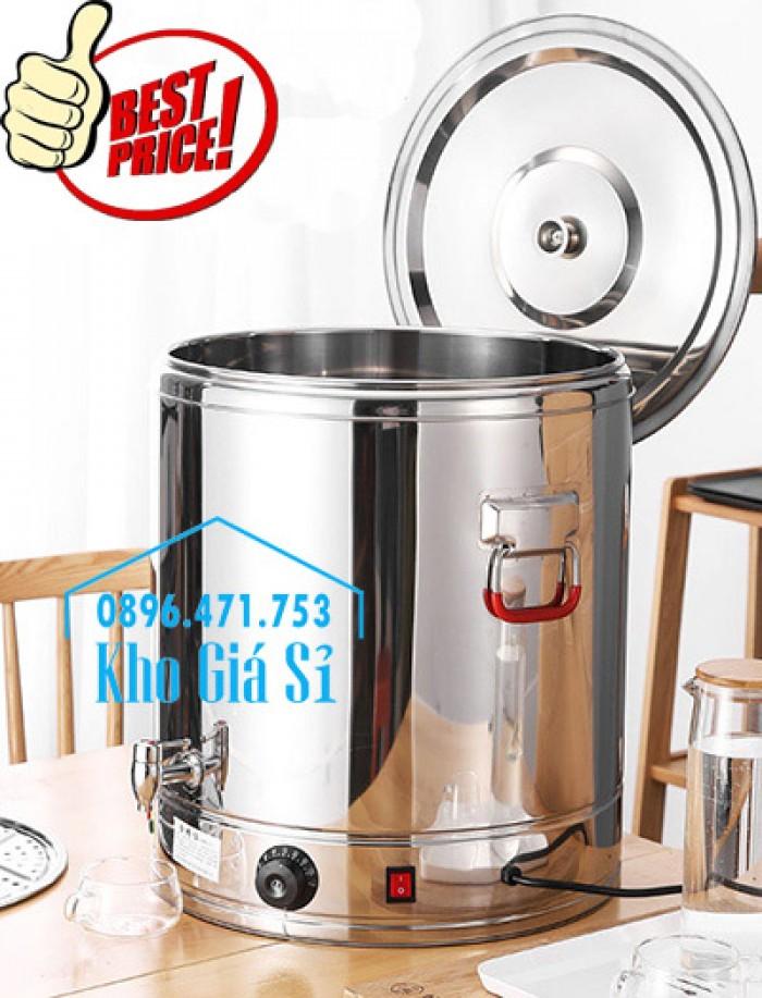 Thùng/ Nồi inox vận chuyển đồ ăn, thùng cách nhiệt, giữ nhiệt vận chuyển nước lèo, nước phở tại Nha Trang6