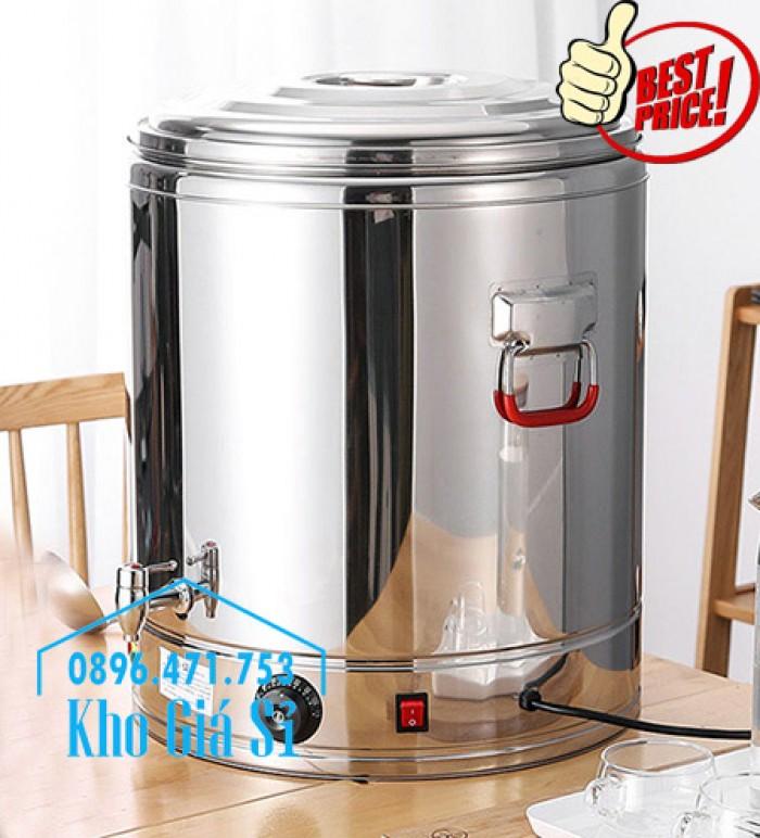 Thùng/ Nồi inox vận chuyển đồ ăn, thùng cách nhiệt, giữ nhiệt vận chuyển nước lèo, nước phở tại Nha Trang4