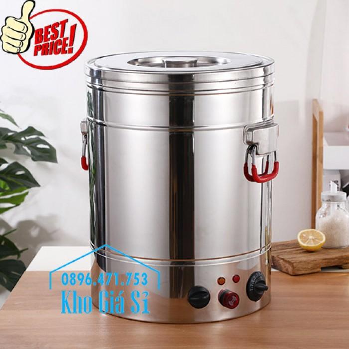 Thùng/ Nồi inox vận chuyển đồ ăn, thùng cách nhiệt, giữ nhiệt vận chuyển nước lèo, nước phở tại Nha Trang2