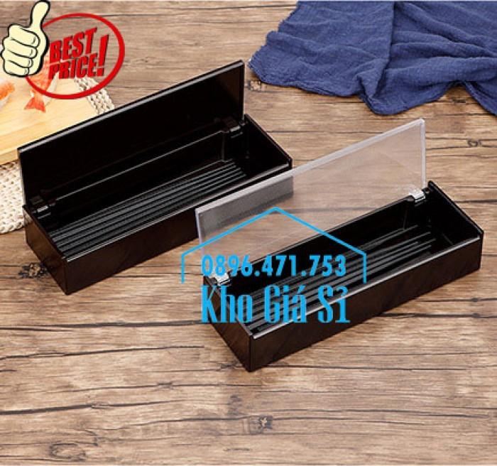 Bán hộp đựng đũa muỗng nhà hàng mẫu mới nhất tại HCM17