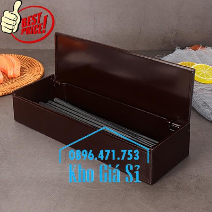 Bán hộp đựng đũa muỗng nhà hàng mẫu mới nhất tại HCM19