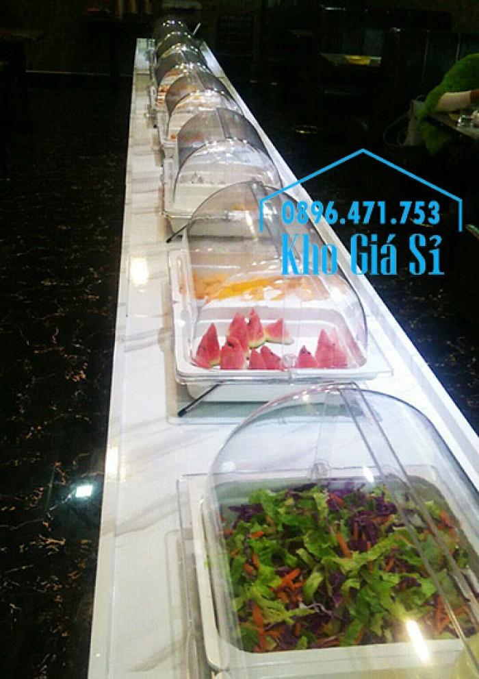 Kệ trưng bày thức ăn buffet, kệ trang trí bánh ngọt, trái cây tiệc buffet - Đà Lạt