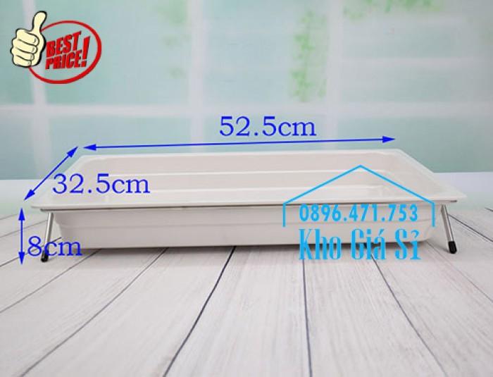 Khay đựng thức ăn buffet có nắp đậy bằng nhựa mica trong mở 2 chiều - Đà Nẵng11