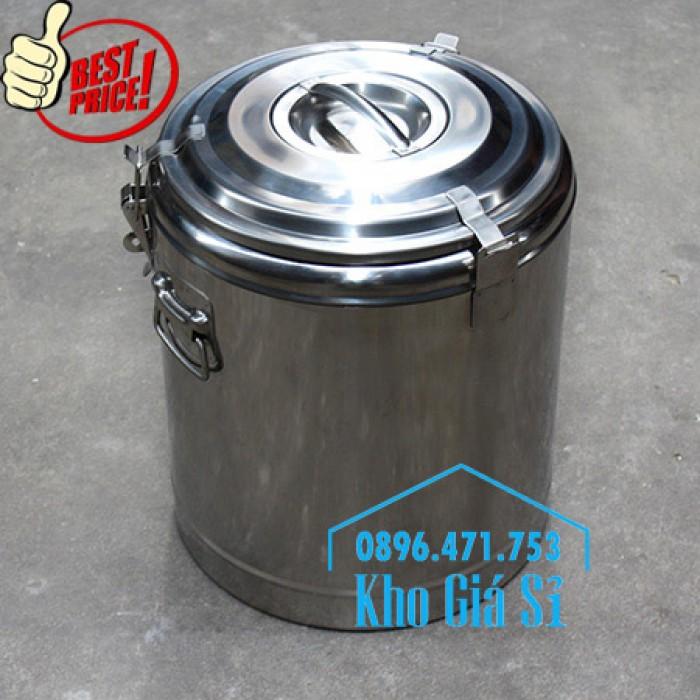 Phân phối sỉ và lẽ thùng inox giữ nhiệt - thùng inox cách nhiệt