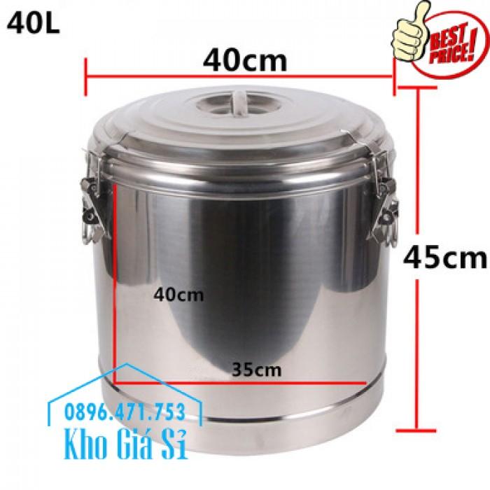 Phân phối sỉ và lẽ thùng inox giữ nhiệt - thùng inox cách nhiệt - 5