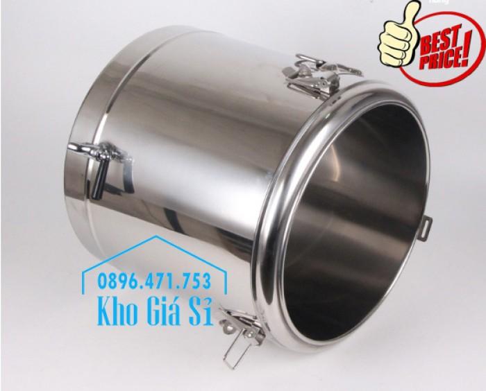 Phân phối sỉ và lẽ thùng inox giữ nhiệt - thùng inox cách nhiệt - 3