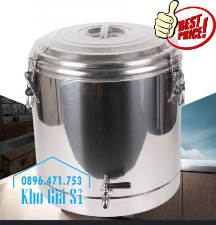 Phân phối sỉ và lẽ thùng inox giữ nhiệt - thùng inox cách nhiệt - 12