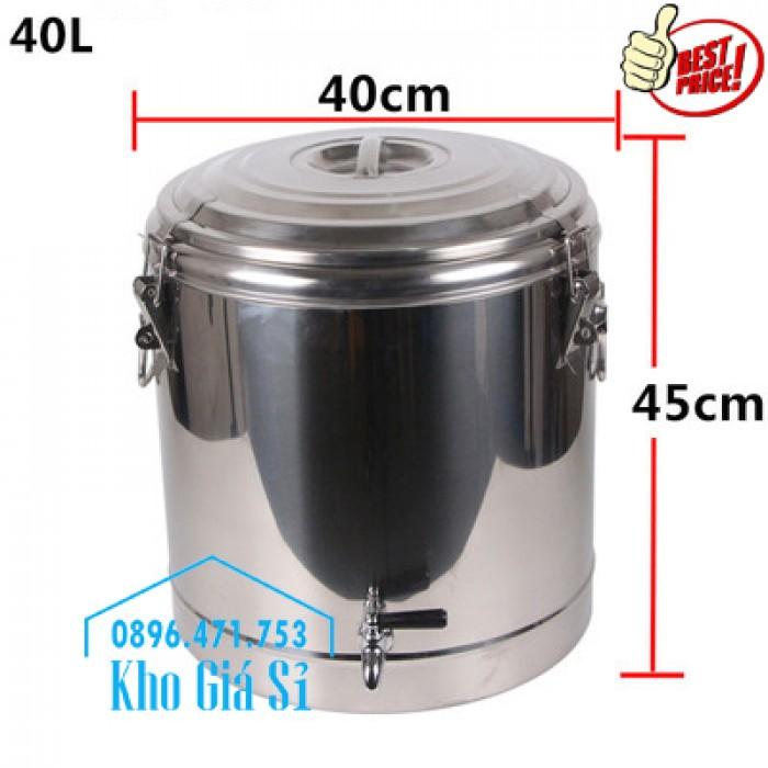 Phân phối sỉ và lẽ thùng inox giữ nhiệt - thùng inox cách nhiệt - 11