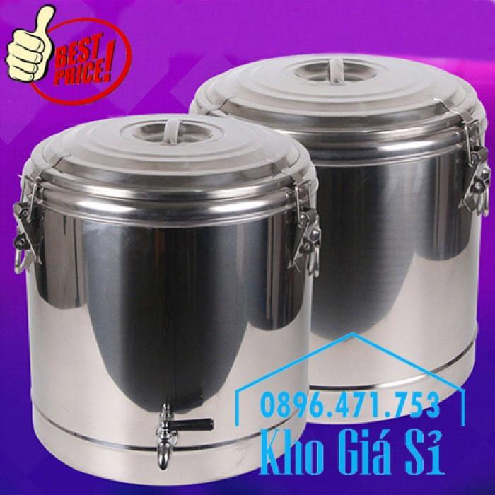 Phân phối sỉ và lẽ thùng inox giữ nhiệt - thùng inox cách nhiệt - 7